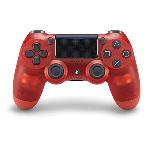 Manette sans fil DualShock 4 Crystal Red