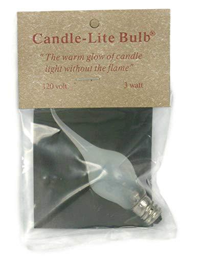 CTW 3640921 Candle-Lite Bulb 3 Watt, 1-inch Diameter