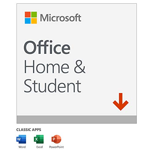 Microsoft Office 2019 Home & Student | 1 user | 1 PC (Windows 10) or Mac | one-time purchase | multilingual | download
