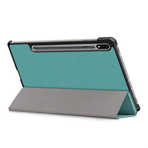 Mazu Homee tablet case, suitable for Samsung Galaxy Tab S7 case, S7plus three-fold support PU anti-drop leather case, a variety of colors
