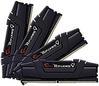 G.Skill DDR4メモリ DDR4-3600 64GBKit(16GB×4枚組)国内正規品 OVERCLOCK WORKS購入限定特典ステッカー付き F4-3600C18Q-64GVK