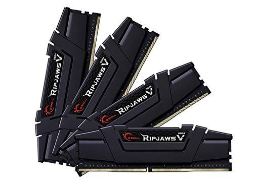 G.Skill DDR4メモリ DDR4-3600 128GBKit(32GB×4枚組)国内正規品 OVERCLOCK WORKS購入限定特典ステッカー付き F4-3600C18Q-128GVK
