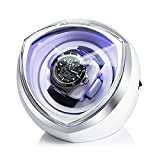 FRUCASE Single Watch Winder for Automatic Watches Watch Box Automatic Winder Storage Display case Box