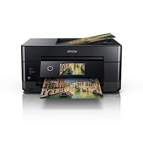 Epson Expression Premium XP-7100 Stampante Multifunzionale 3-in-1, Stampa, Scansione, Copia, Display Touch da 10.9 cm, Ethernet, A4, Nero