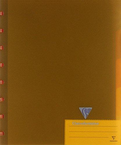 Clairefontaine Koverbook clairing Notizbuch, Einband aus Polypropylen 144Seiten Mit Trennblättern Zufällige Farbauswahl