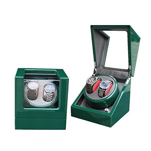 CLJ-LJ Caja de Reloj automático de la Placa giratoria del Soporte del Reloj de la coctelera bobinado del Motor Caja de Reloj de exhibición del Reloj de Almacenamiento Caja joyero