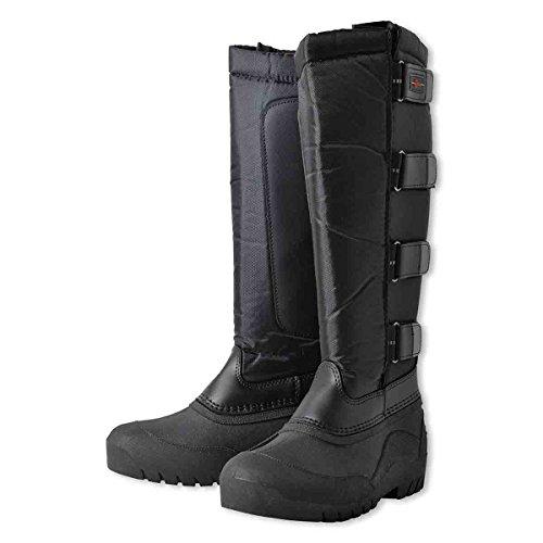 Covalliero, stivali da equitazione classici, termici e di colore nero, KE-BO-326151, nero, 37