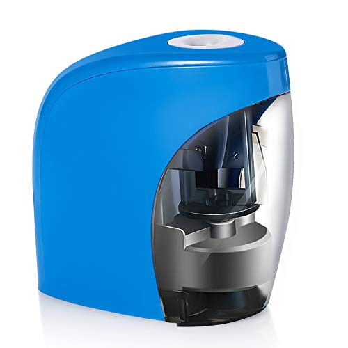Automatic Electrical Sharpener for NO.2 Pencils and Colored Pencils,Portable Electric Sharpener