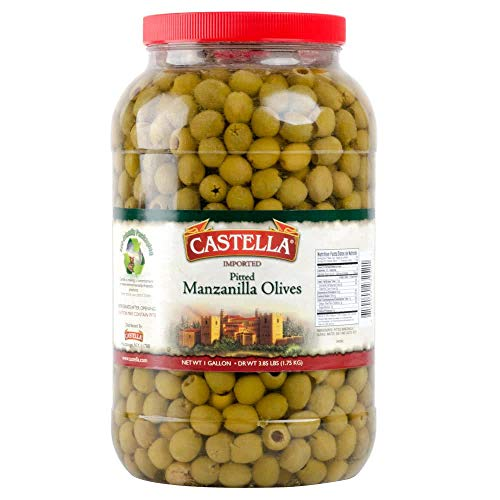 TableTop King Manzanilla Pitted Olives - 2 Gallon