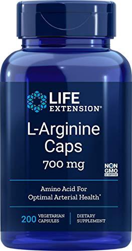 Life Extension, L-Arginine, 700 mg, 200 vegane Kapseln