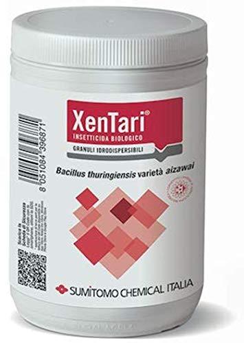 Variedad de XENTARI insecticida biológico BACILLUS THURINGIENSIS AIZAWAI basado en paquetes de 500 gramos