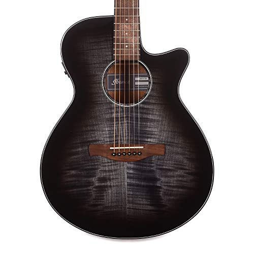 Ibanez AEG70 Acoustic Transparent Charcoal Burst High Gloss