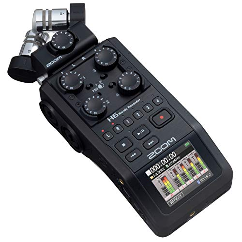 Zoom H6-BLK/IFS - grabadora de 6 pistas - interface USB - Black Edition