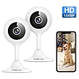 Security Camera Indoor, Goowls 1080p HD 2.4GHz WiFi Wired IP Camera for Home Security Baby/Pet/Nanny Monitor...