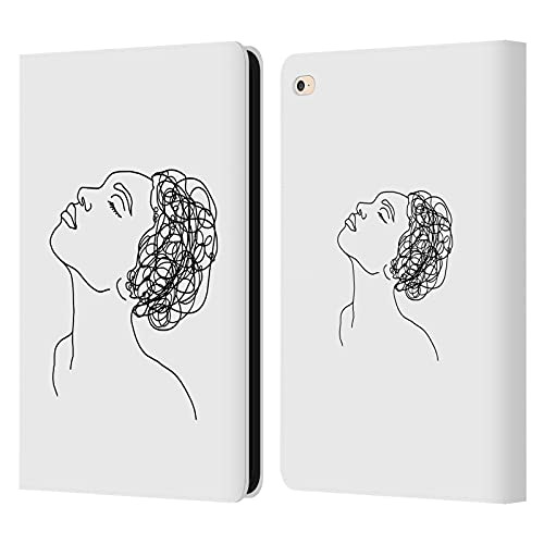 Head Case Designs Officially Licensed LebensArt Afro Minimalism Leather Book Wallet Case Cover Compatible With Apple iPad Air 2 (2014)