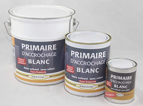 BREDAC 11B5040903 Primaire d'Accrochage Blanc 2,5 L