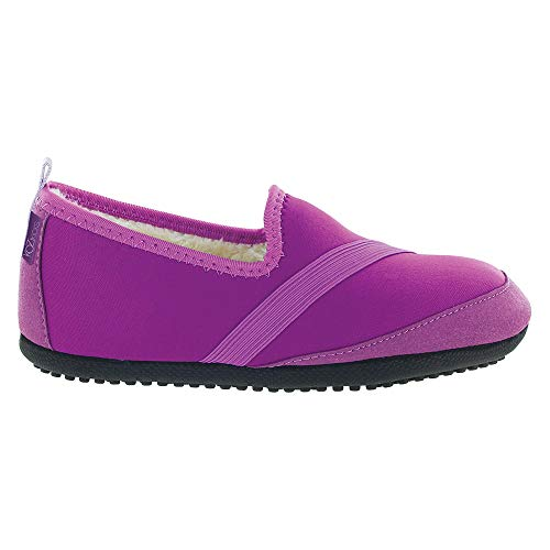 FitKicks KOZIKICKS Active Lifestyle Slippers Indoor/Outdoor Footwear Shoes for Women Purple