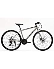 Sport bike from Ashby Torni Shimano Derailleur size 17 inch with aluminum frame, 7 front speeds, 3 rear speeds,hidden wire, and two water bottel holders.