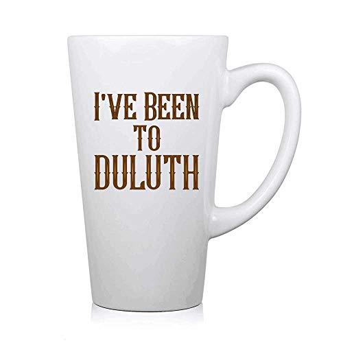 PICOM99 Ich war in Duluth - Schnapsglas, einzigartiges und lustiges Schnapsglas