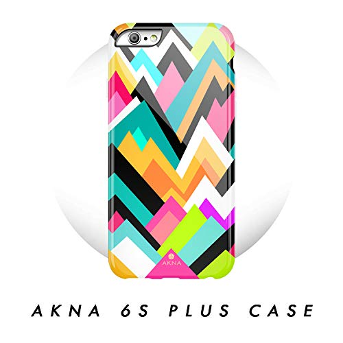 iPhone 6 Plus / 6s Plus case Geometric, Akna Glamour Series Flexible Hard TPU Cover for Both iPhone 6 Plus & iPhone 6s Plus (#53-U.S)