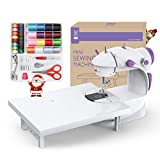 Best Portable Sewing Machines - Varmax Mini Sewing Machine with Extension Table Review