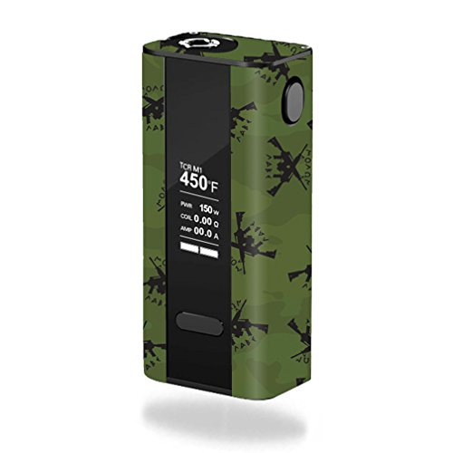 MightySkins Skin Compatible with Joyetech Cuboid 150W TC – Molon Labe | Protective, Durable, and Unique Vinyl Decal wrap Cover | Easy to Apply, Remove, and Change Styles | Made in The USA