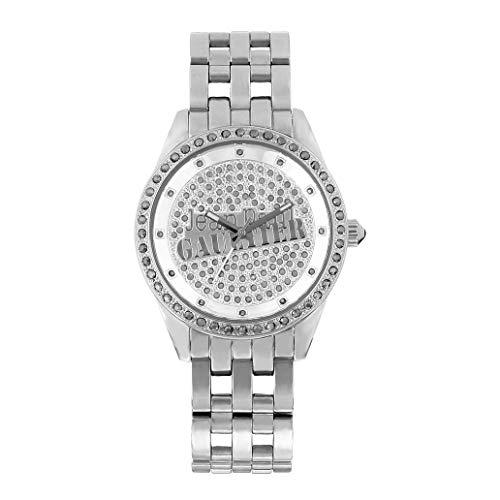 Jean Paul Gaultier Reloj Análogo clásico para Hombre de Cuarzo con Correa en Acero Inoxidable 8502801