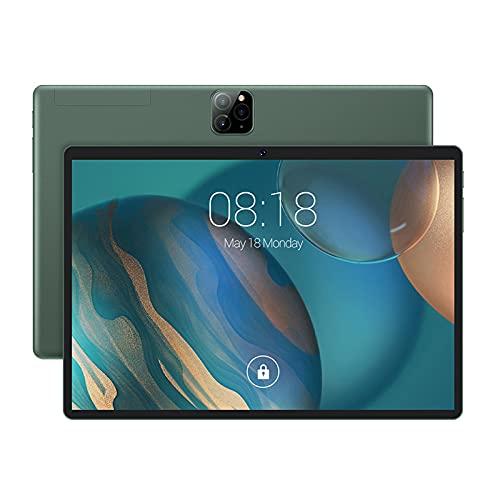 WLOWS Tableta 10.1 Pulgadas Android OS 5.1,800 * 1280 Pantalla IPS, 1GB RAM 16GB ROM / 128GB Expandir, Cámara 0.3MP + 2.0MP, Google Map/Play Store para lecciones en línea, Lectura,Verde