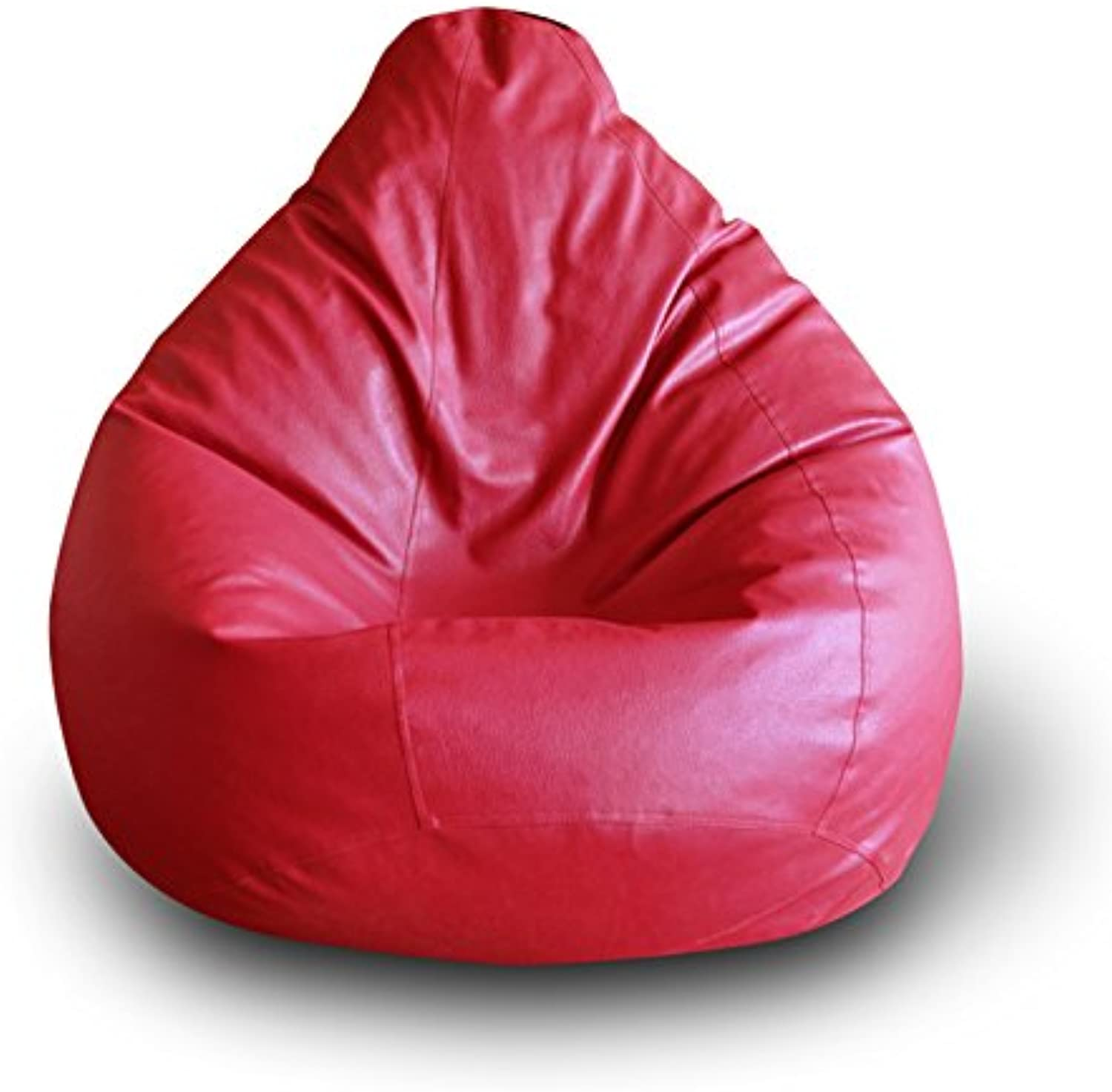 Style Homez Classic Bean Bag XXL Size Red Cover Only