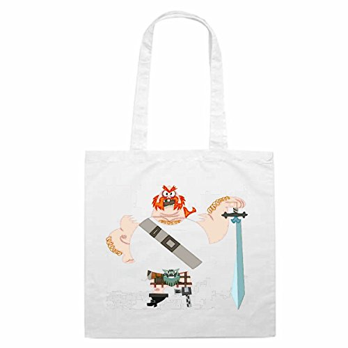 Tasche Umhängetasche Motiv Nr. 12374 Samurai Jack Cartoon Spass Fun Kult Film Serie Cartoon Spass Fun Kult Film Serie