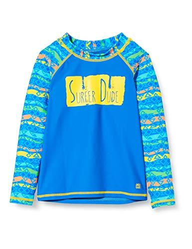 Schiesser Jungen Bade-Shirt Badehose, Mehrfarbig (Multicolor 1 904), 98 (Herstellergröße: 098)