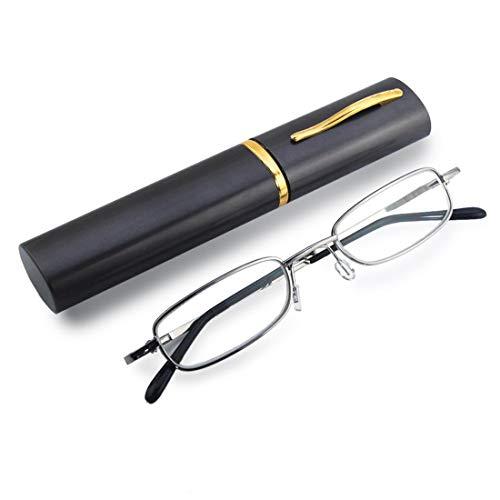 THG Eye Care Unisex Lesebrille Lesehilfe reading glasses mit Etui +1.50