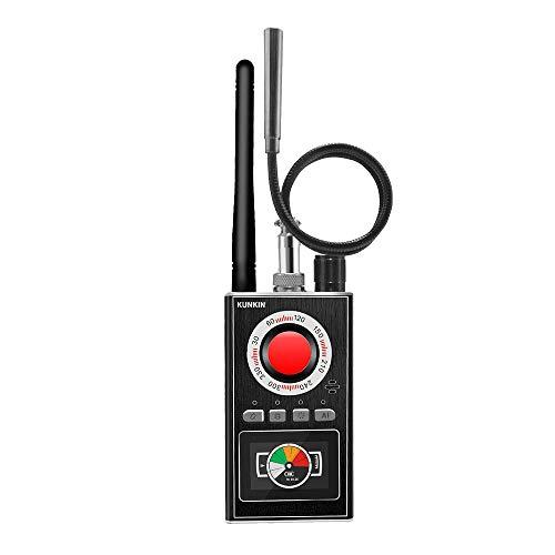 Portable Anti Spy Detector&Hidden Camera Detector,Five Mode Hidden Bug Detector Higher Sensitivity GPS Tracker Detector& Listening Device Finder