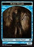 Magic The Gathering - Human Wizard Token (002/010) - Eldritch Moon