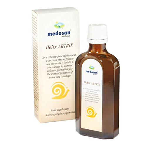 Medosan Helix Artrix 125ml for Relief & Joint Support | Joint Health Food Supplement with The addtion of an Exclusive Snail Mucus Filtrate and Vitamins