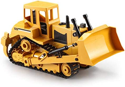 IIIL Remote Max 79% OFF Control Bulldozer with Triangle Very popular S Large Toy Crawler