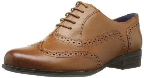Clarks Damen Hamble Oak Derby, Braun (Dark Tan Leather), 38 EU