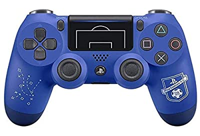 Limited Edition Playstation UEFA F.C. PS4 PRO Rapid Fire Custom Modded Controller 40 Mods for All Major Shooter Games, BO4 & More (CUH-ZCT2U)