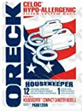 Oreck Genuine XL Buster B-Canister Vacuum Cleaner BAGS-PKBB12DW