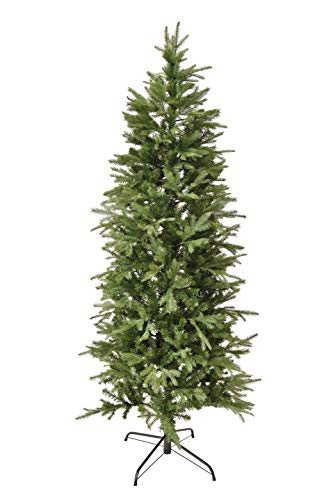 XONE Albero di Natale Joy Real Touch, Struttura Slim, PE+PVC, Apertura Ombrello 240cm