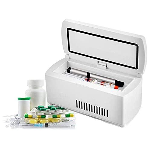 Refrigerador Insulina PortáTil, Mini Caja Refrigerada Para AutomóVil, Refrigerador Medicina, Refrigerador Insulina Para Viajes, PequeñO RefrigeracióN Refrigerador-default