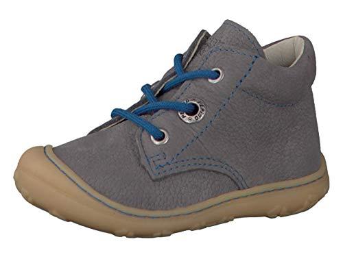 RICOSTA Pepino Unisex - Kinder Stiefel Cory, WMS: Mittel, Kids junior Kleinkind-er Kinder-Schuhe Klett-Schuhe toben Spielen,Graphit,21 EU / 5 UK