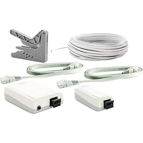 Fuba WebFiber Set 135 WLAN Lichtleiter-Adapter-Set für optisches Netzwerk mit Eins-zu-DREI-Anschlüssen + WLAN
