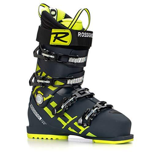 Rossignol All Speed 100 Bottes de Ski Homme, Noir/Jaune, 27.5
