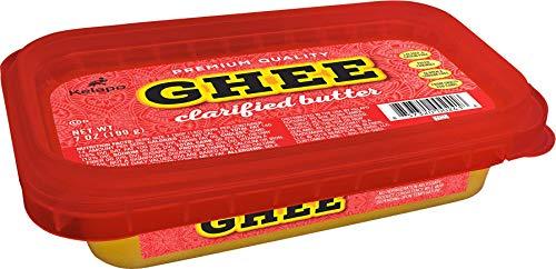 Kelapo NEW Ghee (Clarified Butter) 7oz Tub, Light, Medium, Or Dark Yellow