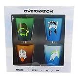 Overwatch Shot Glass 4-Pack