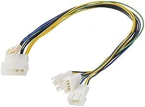 Akasa AK-CB002 PWM Splitter Smart Fan Cable Supports 3 PWM Fans from A Single Motherboard Header