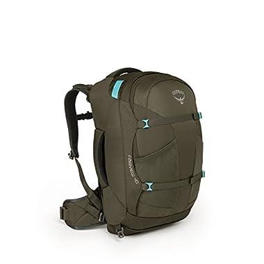 Osprey Packs Fairview 40 Travel Backpack, Misty Grey, Small/Medium