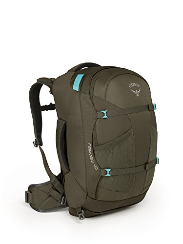 Osprey Packs Fairview 40 Women's Travel Backpack, Misty Grey, Small/Medium