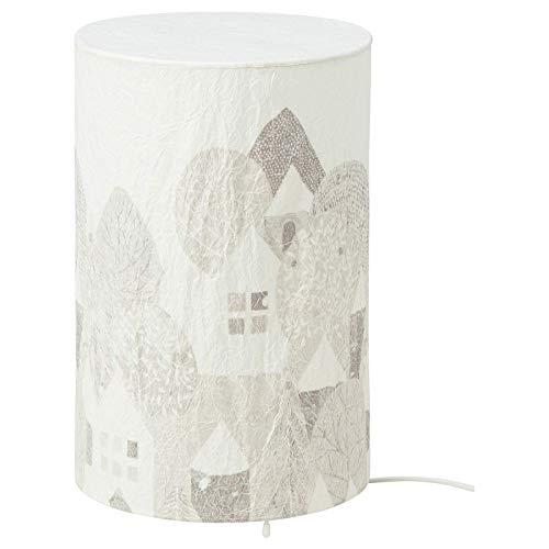 Ikea Strala Tischleuchte, LED, Landschaft 30 cm Hoch, Winterlandschaft